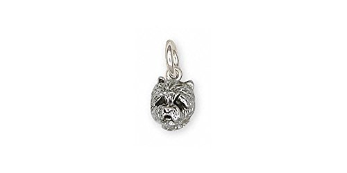 (Westie Charm Jewelry Sterling Silver Handmade West Highland White Terrier Charm WS5H-C)
