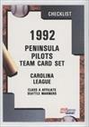 peninsula-pilots-team-baseball-card-1992-fleer-procards-minor-league-base-2951