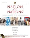 Nation of Nations Vol. 2 : A Concise Narrative of the American Republic, Davidson, James West, 0072417749