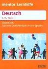 Deutsch Grammatik Für Die 56 Klasse Bausteine Und Spielregeln