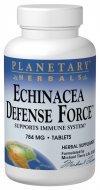 Planetary Herbals Echinacea - Echinacea Defense Force Planetary Herbals 90 Tabs