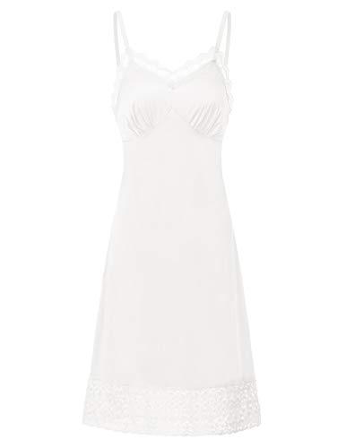 Belle Poque Damen Nachtwäsche Nachthem Sleepwear Sommer Unterkleid Spaghetti Trägern Kleid Schlafanzüge BP041
