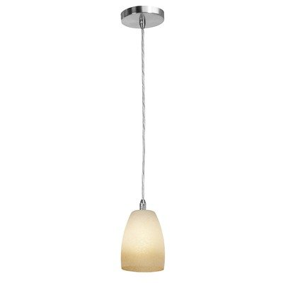 Access Lighting 28359-BS/FRA Shava Velvet Cone Hanging Mini