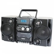 NAXA Electronics Portable MP3/CD Player with AM/FM Stereo Radio and Cassette Player/Recorder (Deck Player Cd)