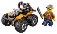 LEGO City Jungle 30355 ATV Car with Minifigure 2017 (Polybag) - Ages 4 Up
