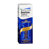 Bausch & Lomb Boston Simplus Multi-Action Solution, 3.5 OZ (Pack of 4)