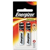 (Energizer Alkaline Batteries Size Aaaa 1.5 V Blister Pack 2)