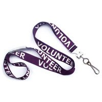 (Volunteer 36 in. Flat Printed Lanyards)