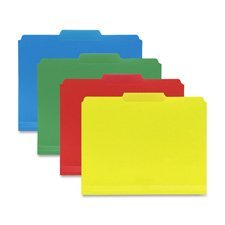 Co Inn Dura File Folders, 9 High Front, Letter Size, Yellow by Smead ()
