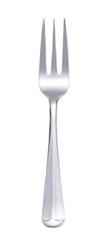 HIC Salad Fork Set, Oxford, Stainless Steel, Set of 12