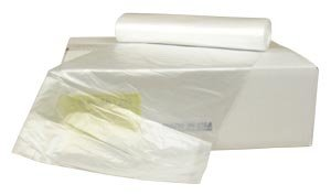 Berry Plastics HR334016N Rhino-X High Density Polyethylene Coreless Roll Can Liner, 33 gallon Capacity, 16 micron Thick, 40