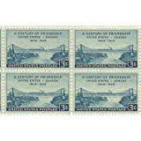Century of Friendship U.S. & Canada Set of 4 x 3 Cent US Postage Stamps Scot 961
