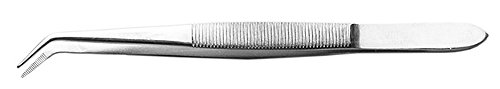 Excel Stainless Steel Tweezer - Excel Curved Point, 6-Inch