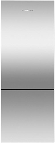 - Fisher Paykel RF135BLPX6 25 Inch Counter Depth Bottom Freezer Refrigerator with 13.5 cu. ft. Total Capacity in Stainless Steel