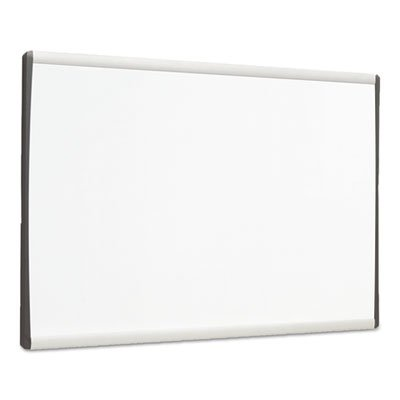 Magnetic Dry-Erase Board, Steel, 11 x 14, White Surface, Silver Aluminum Frame, Sold as 1 Each by Quartet