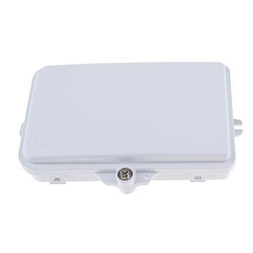 Flameer 6 Core SC/FC Fiber Splice Tray Fiber Optic Terminal Box