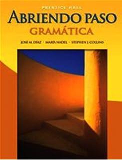 Amazon abriendo paso 2012 gramatica student edition abriendo paso gramtica english and spanish edition fandeluxe Choice Image