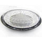 10 Inch Low Dome Plastic Disposable/Reusable Pie Carrier #WJ44 (100)