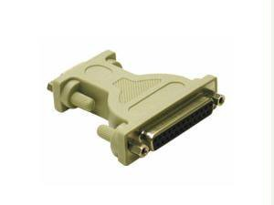 C2G/Cables to Go 02472 DB9 Female to DB25 Female Serial RS232 Null Modem Adapter
