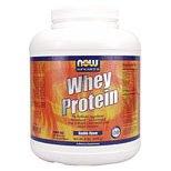 Whey Protein Economy Vanilla 5 lb, NOW Foods