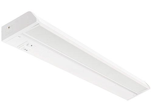 Westgate Lighting LED Undercabinet Light- Multi Color Temperature -Adjustable Angle- Best LED Under Cabinet Lights for Kitchen, Office, Home- High Lumen-120V- White Housing (24W) ()