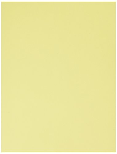 Springhill, Digital Vellum Bristol Cover Canary, 67lb, Letter, 8.5 x 11, 250 Sheets / 1 Ream,  (036000R)Made In The USA