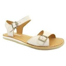 925361ead7e4 Clarks Womens Originals Kestral Soar White Leather Sandals 7.5D ...