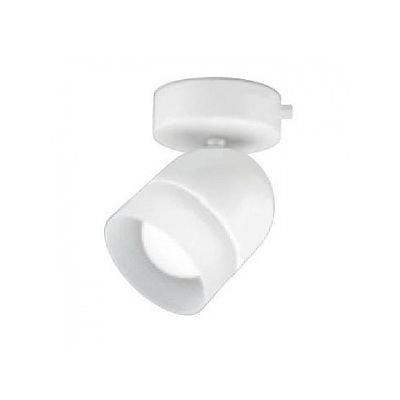 LEDスポットライト 白熱灯60Wクラス フレンジタイプ 電球色(2700K) 光束393lm 配光角100° マットホワイト   B07RYR274Z
