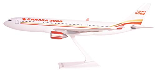 Canada 3000 A330-200 Airplane Miniature Model Plastic Snap-Fit 1:200 Part# AAB-33020H-004