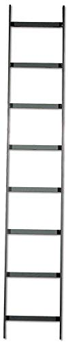 Ladder Rack Data (Hubbell Wiring Systems HLS0612G NextFrame Steel Straight Section Ladder Rack, 6' Length x 12