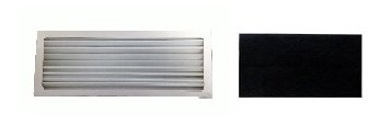 Hamilton Beach Air Purifier Filter and 4 Carbon Pre-Filters Fits True Air Air Purifier 04383, True Air Glow Allergen Reducer 04385, TrueAir Compact Pet Air Purifier 04384