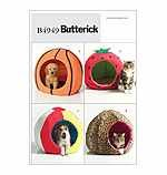 Butterick 4949 Crafts Sewing Pattern Dog & Cat Pet Beds ()