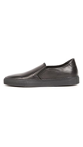 Uri Minkoff Mens Canale In Pelle Slip On Sneakers Nere