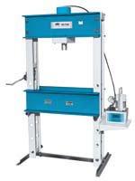 OTC 1854 100 Ton Capacity Shop Press with Electric/Hydraulic Pump (Ton Press Shop 100)