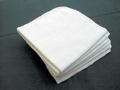 10 Moltont/ücher 40x40 cm aus 100/% kbA-Baumwolle naturbelassen