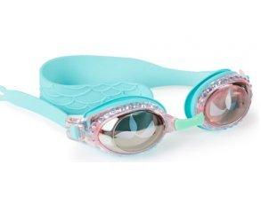 [Swimming Goggles For Girls - Mermaid Kids Swim Goggles By Bling2o (Blue Sushi)] (Google Glass Costume)