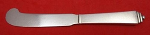 pyramid-by-georg-jensen-sterling-silver-hollow-handle-butter-spreader-as-5-5-8