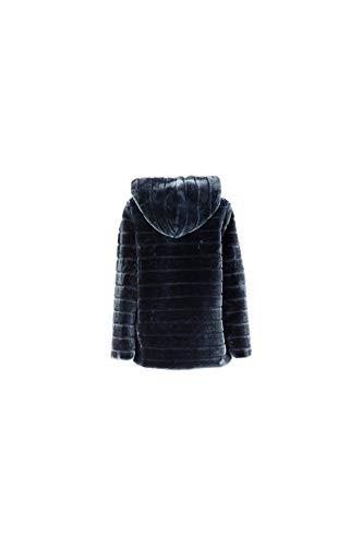 Cappuccio Con Noir Blu Notte Similpelliccia 597 Cafè Jjg540 IxwqnR7ppT