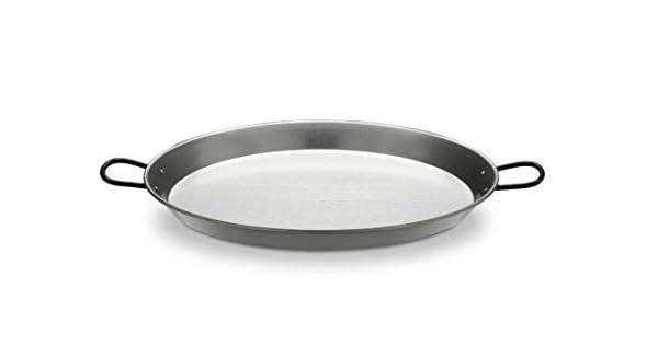 Amazon.com: Paellera valenciana de acero pulido. 28 inch/70 ...