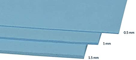 50 mm x 150 mm 0.5 mm thick Electrically Conductive Rubber