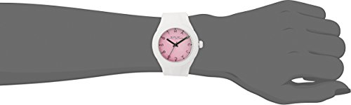 Marc by Marc Jacobs Women's MBM5536 White Plastic and Silicone Watch
