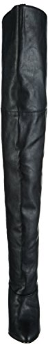 Women's Black 8868 Legend Faux Boot Leather Pleaser PwZdBqTP