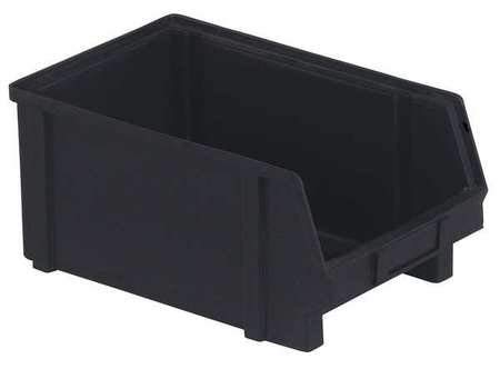 ESD Conductive Stack and Hang Bin, Black by LEWISBins+
