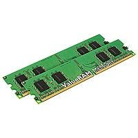 Kingston KVR400D2S8R3K2/1G 1GB 2 x 512MB DIMM 240-Pin DDR II ValueRAM (Sdram 512mb Dimm 240 Pin)