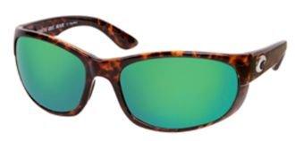 Costa Del Mar howler Sunglasses HO 10 OGMP Tortoise/Green Mirror - Mar Del Costa Howler