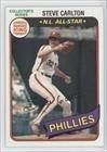 Steve Carlton (Baseball Card) 1980 Topps Burger King Pitch, Hit & Run - Restaurant [Base] #2
