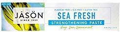 Jason Sea Fresh Toothpaste, Deep Sea Spearmint, 6 Ounce (Pack of 2)