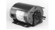 Marathon D107 48Y Frame 48S17D2017 Open Drip Proof Belt Drive Motor, 1 Split Phase, Resilient Ring Mount, Sleeve Bearing, 1/6 hp, 1725 rpm, 1 Speed, 115 VAC