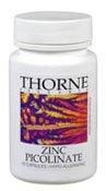 Thorne Research Zinc Picolinate, 15 mg - 60 Capsules