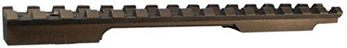 EGW Picatinny Rail Scope Mount, Black, Remington 700 Short Action, 0 -